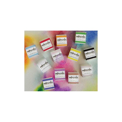 43781 Prima Watercolor Confections Watercolor Pans 12/Pkg The Tropicals (584269).