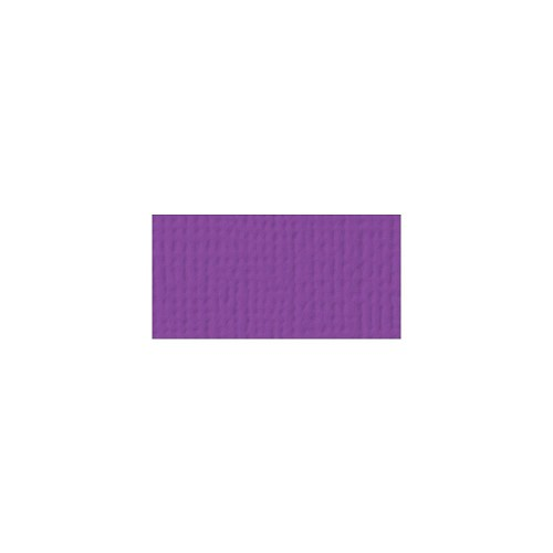 44060 American Crafts Textured Cardstock 30,5x30,5 cm Grape (71010).