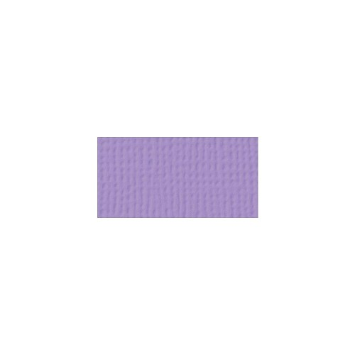 44063 American Crafts Textured Cardstock 30,5x30,5 cm Lavender (71011).
