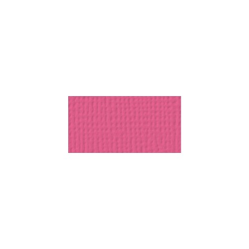 44075 American Crafts Textured Cardstock 30,5x30,5 cm Raspberry (71019).