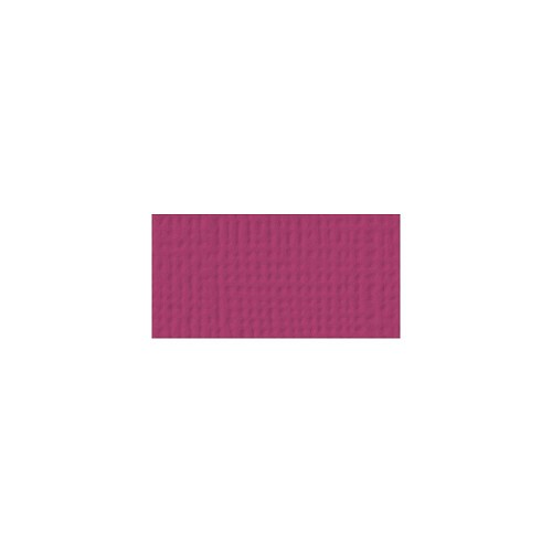 44083 American Crafts Textured Cardstock 30,5x30,5 cm Mulberry (71023).