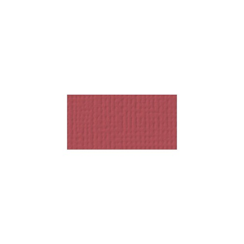 44084 American Crafts Textured Cardstock 30,5x30,5 cm Cranberry (71024).