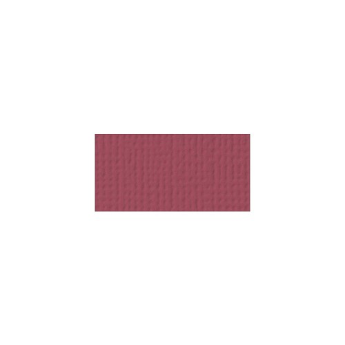 44086 American Crafts Textured Cardstock 30,5x30,5 cm Pomegranate (71025).
