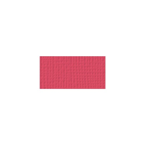 44087 American Crafts Textured Cardstock 30,5x30,5 cm Cherry (71026).