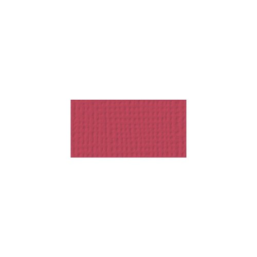 44090 American Crafts Textured Cardstock 30,5x30,5 cm Crimson (71029).
