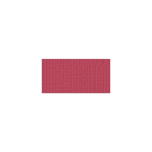 44091 American Crafts Textured Cardstock 30,5x30,5 cm Scarlet (71030).