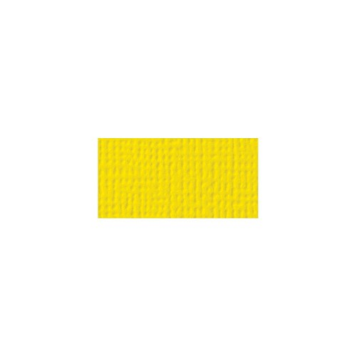44106 American Crafts Textured Cardstock 30,5x30,5 cm Lemon (71039).