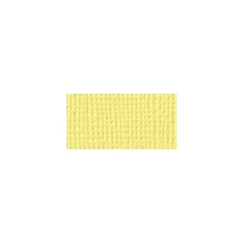 44107 American Crafts Textured Cardstock 30,5x30,5 cm Canary (71463).