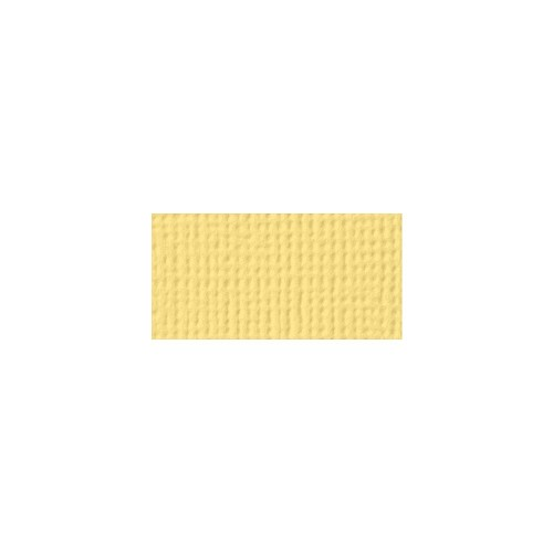44108 American Crafts Textured Cardstock 30,5x30,5 cm Banana (71502).