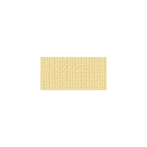 44109 American Crafts Textured Cardstock 30,5x30,5 cm Butter (71040).