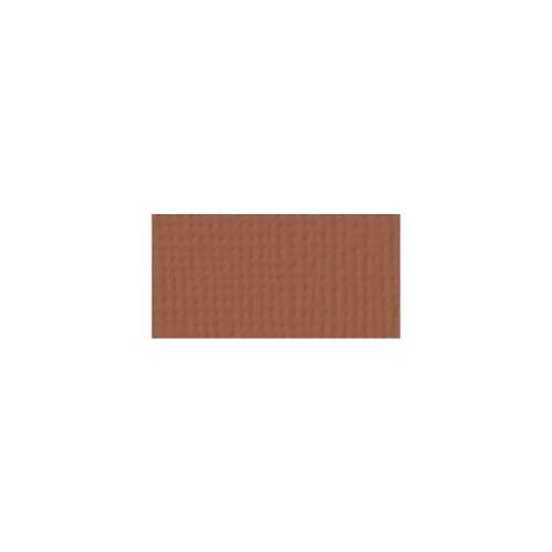 44118 American Crafts Textured Cardstock 30,5x30,5 cm Clay (71046).