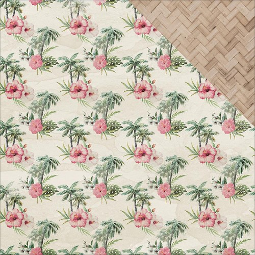44293 Kaisercraft Island Escape Double-Sided Paper 30,5x30,5 cm Aloha.