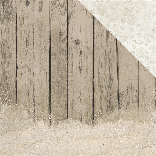 44294 Kaisercraft Island Escape Double-Sided Paper 30,5x30,5 cm Driftwood.