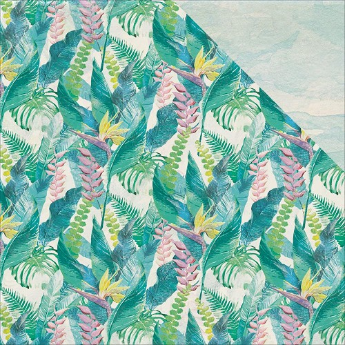 44295 Kaisercraft Island Escape Double-Sided Paper 30,5x30,5 cm Bird Of Paradise.