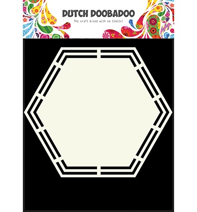 44347 Dutch Doobadoo Shape Art Hexagon (470.713.148).