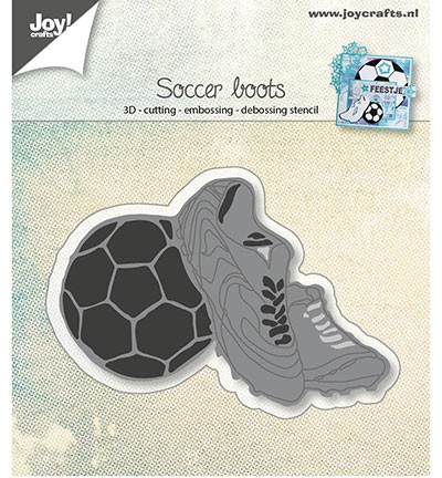 44491 Joy Crafts Cutting & Embossing & Debossing Voetbalschoenen (6002/0919).