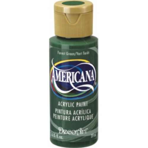 44525 Deco Art Americana Acrylverf Flesje 59 ML Forest Green (DA050).