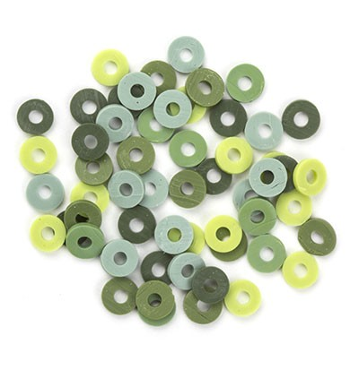 44568 Katsuki Mix Green 100pcs / 6mm (12428-2806).