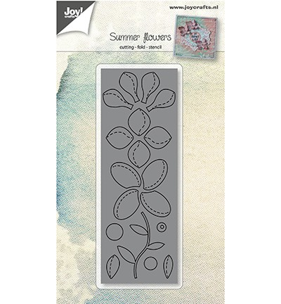44812 Joy Crafts Cutting Bloemen met Vouwlijn (6002/0951).
