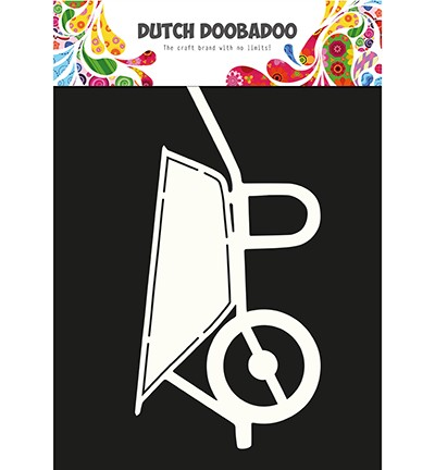 45392 Dutch Doobadoo  Card Art Wheelbarrow (470.713.646).
