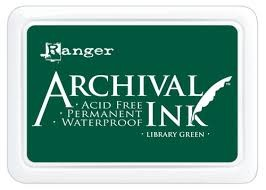 45406 Archival Inkt Pad Library Green.