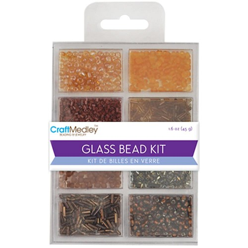 45510 Multicraft Glass Bead Kit (45 Gram) Nuggets Classic.