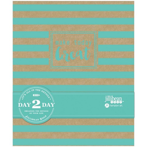 "45820 Jillibean Soup Day 2 Day Planner Album 7.5""X9"" Make Today Great."