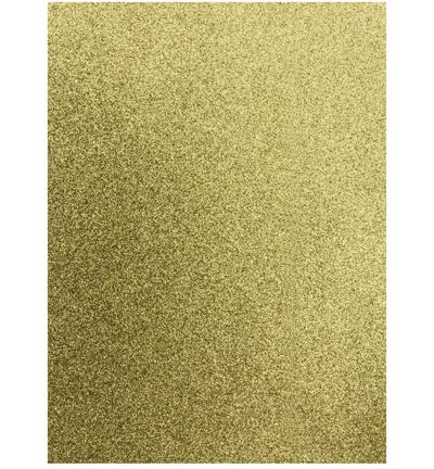 45867 EVA Glitter Foam Sheet Goud A4 1 Stuks 2mm (12315-1532).