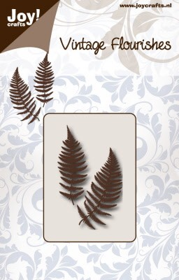 45886 Joy Crafts Snijstencil - VF - Varen (6003/0083).