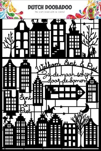 45997 Dutch Doobadoo Dutch Paper Art Sinterklaas A5 (472.950.005).