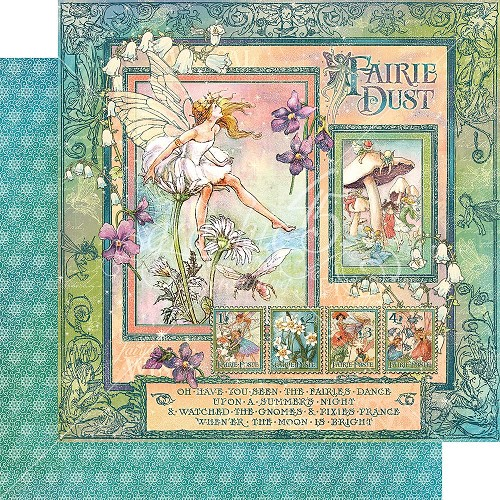 46120 Graphic 45 Fairie Dust Collection Fairie Dust (4501632).