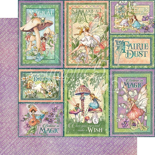 46123 Graphic 45 Fairie Dust Collection Dreamland (4501635).