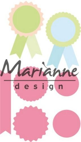 46365 Marianne Design Collectable Rosettes & Labels (COL1444).