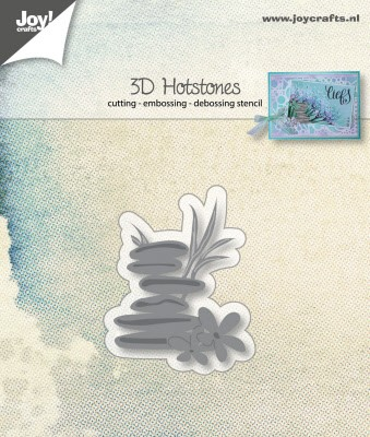 46404 Joy Crafts 3D-Cut-embos-debosstencil - Hotstones (6002/1024).