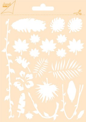 46412 Joy Crafts Polybesa Stencil - Jungle  (6002/0851).