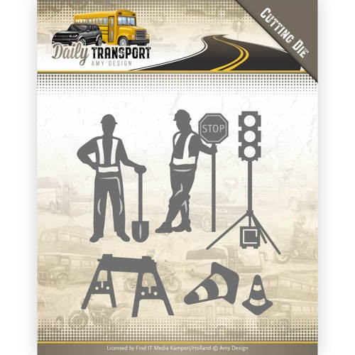 46476 Dies - Amy Design - Daily Transport - Road Construction (ADD10130).