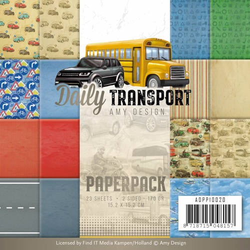 46487 Paperpack - Amy Design - Daily Transport (ADPP10020).