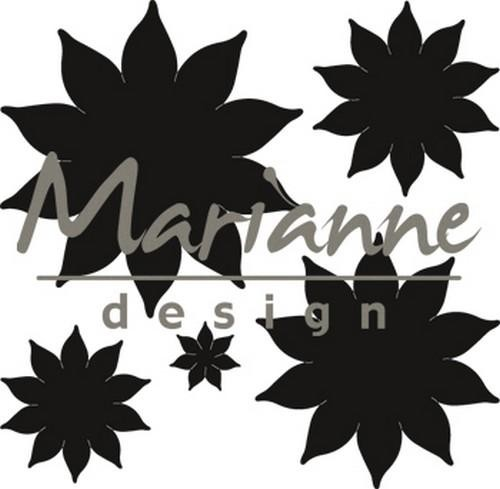 46597 Marianne Design Craftable Succulent (pointed) (CR1431).