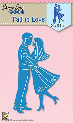 46629 Shape Dies Blue Fall in Love (SDB031).