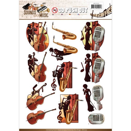 46679 Push Out - Amy Design - Sounds of Music - Jazz (SB10242).