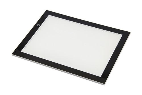 46730 LED, Ultra Thin Light Table (3 different adjustable brightness levels) (LED001).