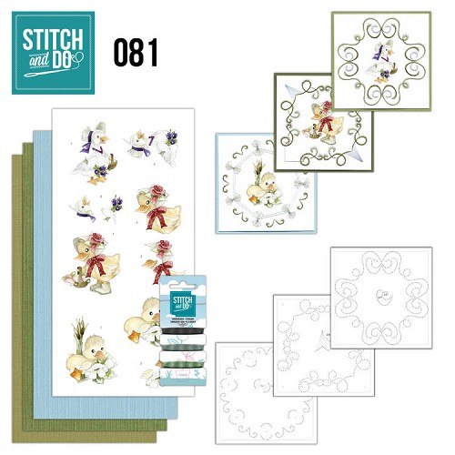 46848 Stitch and Do 81 - Voorjaarsdieren.