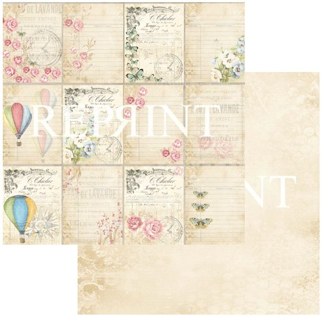 46887 Reprint Spring Blossom Collection 12x12 - 200 grams Tags.