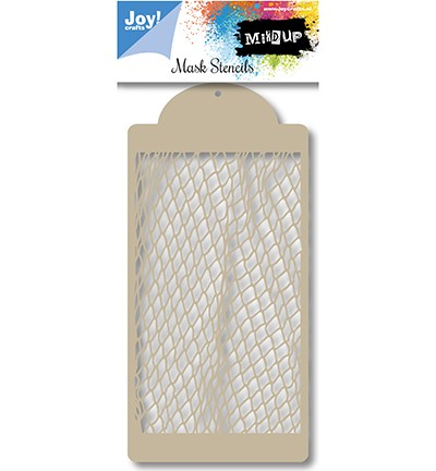 47196 Joy Crafts Mask Stencil Fishnet 00x210 mm (6002-0848).