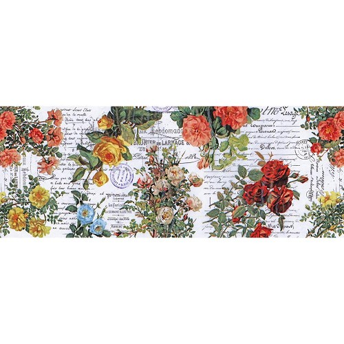 47228 Tim Holtz Idea-Ology Collage Paper 6yds Floral (TH93707).
