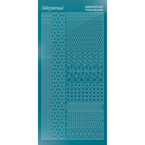 47409 Hobbydots Mirror Turquoise Serie 011.