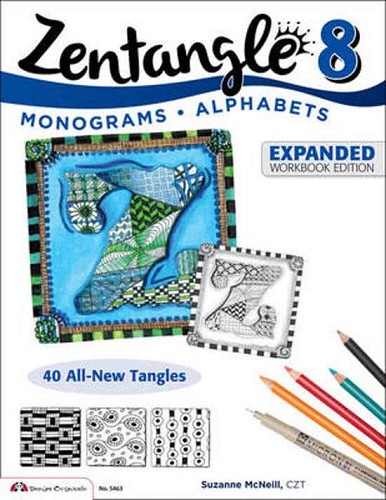 47480 Design Originals Zentangle 8 Expanded Workbook Edition 8.