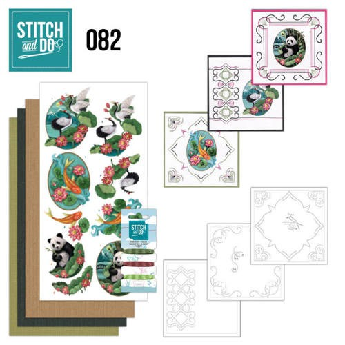 47505 Stitch and Do 82 - Oriental.