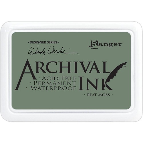 47623 Ranger Wendy Vecchi Archival Ink Pad Peat Moss.