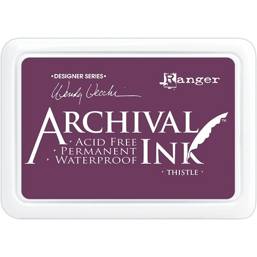 47626 Ranger Wendy Vecchi Archival Ink Pad Thistle.